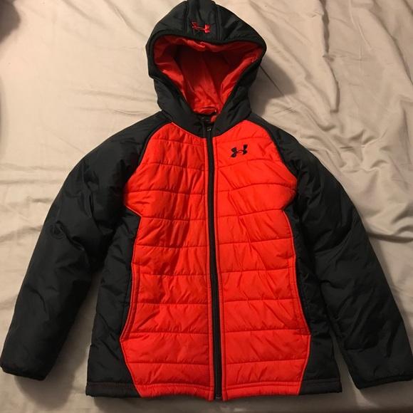 c486995e16 Boys Under Armour Puffy Winter Coat